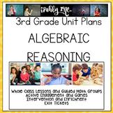 Algebraic Reasoning Guided Math Lesson Plans 3.4K 3.5A 3.5B 3.5E 3.6D 3.8B