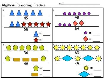 Algebraic Reasoning Practice