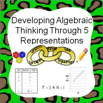 Algebraic Thinking / Problem Solving Using Representations