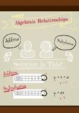 Algebraic Relationships