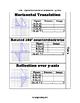 Algebraic Representations of Transformations INB-TEKS 8.10C