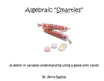 "Algebraic ""Smarties"" - A Lesson in Variable Understanding"