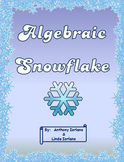 Algebraic Equation Snowflake