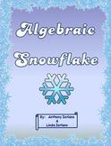 Algebraic Equation Snowflake
