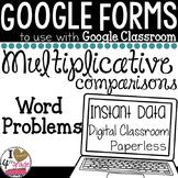 Algebraic Word Problems  Google Form