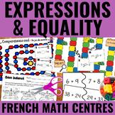 Algèbre: Équations et égalités -  Early Algebra (Expressions & Equality) Centers