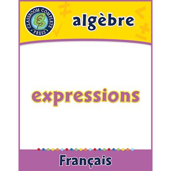 Algèbre: Expressions An. 6-8