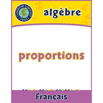 Algèbre: Proportions An. 6-8