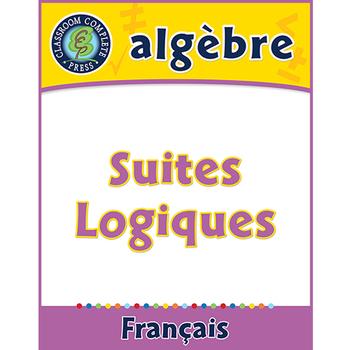 Algèbre: Suites Logiques An. PK-2