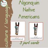 Algonquin  3 Part Cards CURSIVE