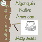 Algonquin Writing Booklet