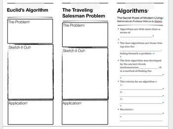 Algorithms: The Secret Rules of Modern Living Worksheet