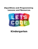 Algorithms and Programming Coding UNIT Kindergarten VDOE Aligned EDITABLE