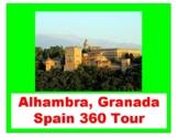 Alhambra, Granada, Spain 360 Virtual Tour!