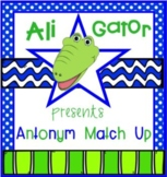 Ali-Gator Antonym Card Game