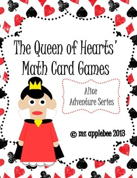 Alice Adventure Series: Math Card Games