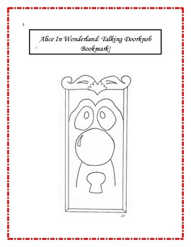 Alice In Wonderland Activity Pack! Bookmarks, Crafts and More!