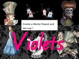 Alice In Wonderland Arts Assessment PowerPoint