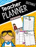 Alice In Wonderland Inspired Teacher Planner
