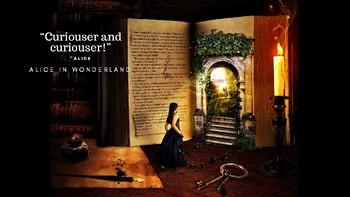 Alice In Wonderland Quote Poster