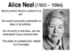Alice Neel PPT, K-8