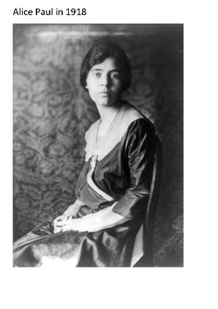 Alice Paul Word Search