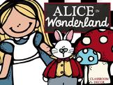 Alice in Wonderland Classroom Decor + EDITABLE VERSION