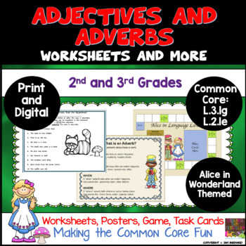 Alice in Language Land Adjectives and Adverbs