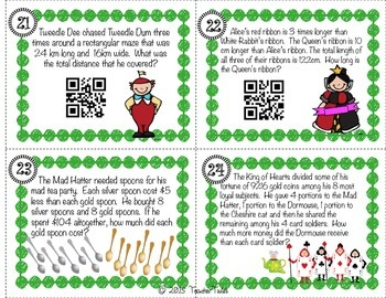 Multiplication and Division Word Problems QR Code