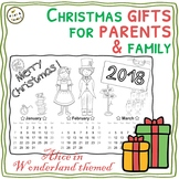 Alice in Wonderland DIY - 2018 coloring calendars – Christmas gifts !