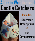 Alice in Wonderland Novel Study (Scoot Unit Review Game)