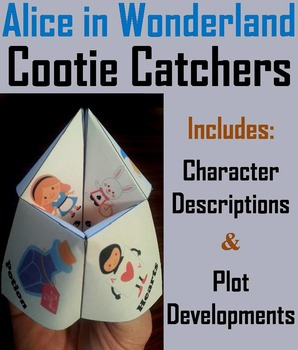 Alice in Wonderland Activity (Scoot Unit Review Game)