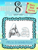 Alice in Wonderland ABC Clip Art