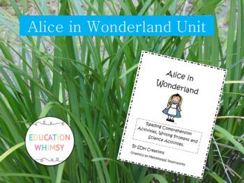 Alice in Wonderland Activities