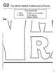 Alice in Wonderland Activity -- THE WHITE RABBIT Collaborative Poster