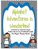 Alice in Wonderland Alphabet Classroom Set