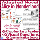 Alice in Wonderland- An Adapted Novel for SpEd, Autism Uni