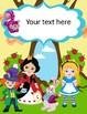 Alice in Wonderland Binder Covers complete Editable!!!!