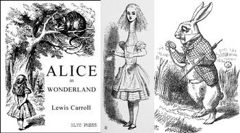 Alice in Wonderland Book Tasting Menu