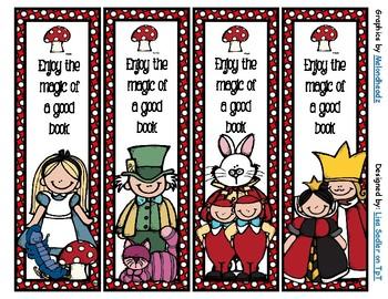 Alice in Wonderland Bookmarks