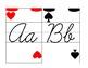 Alice in Wonderland  Classroom Decoration: Card Army Alphabet