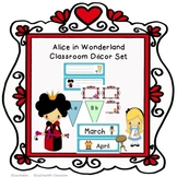 Alice in Wonderland Classroom Decor Set