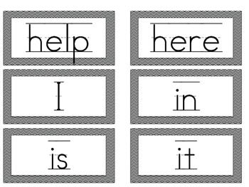 Alice in Wonderland Classroom Word Wall Kit Including Sight Word Cards