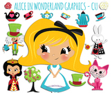 SALE- Alice in Wonderland Clip Art