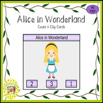 Alice in Wonderland Task Cards