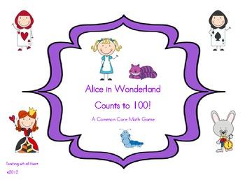 Alice in Wonderland Counts to 100!