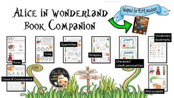 Alice in Wonderland - ESL/EFL Book Companion