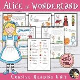 Alice in Wonderland Unit