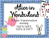Alice in Wonderland Fractions Transformation