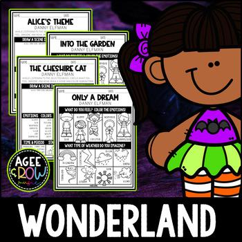 Alice in Wonderland, Halloween Activities, October Activities, Danny Elfman